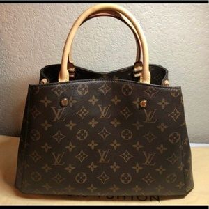 Authentic Louis Vuitton Monogram Montaigne Bag